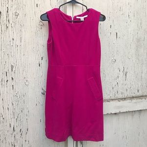 Diane von Furstenburg Pink Sleeveless Dress Size 2